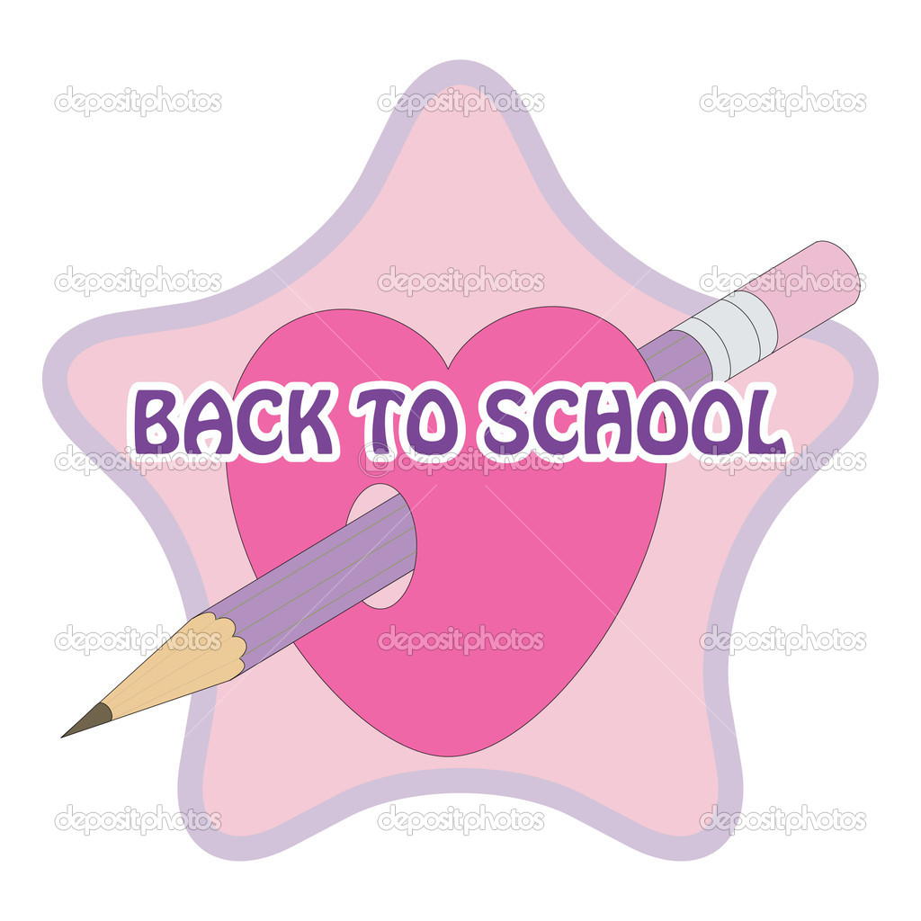 Vector sign back to school — Stock Vector #3713578