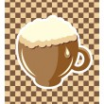 Cup of cappuccin — Stock Vector