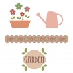 Garden elements — Stock Vector #3914196