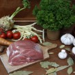 Stock Photo: Food preparation