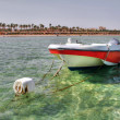 Stock Photo: Motor boat in Sharm el Sheikh