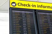 Departures — Stock Photo