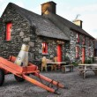 Stock Photo: Irish cottage house
