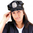Stock Photo: Sexy police woman