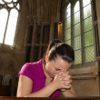 Stock Photo: Pray time