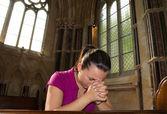 Pray time — Stock Photo
