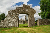 Adare Abbey gate view — Stock Photo