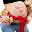 It's a baby girl! — Stock Photo