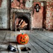 Creepy attic — Stock Photo