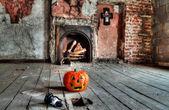 Creepy attic — Stock Photo