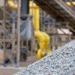 Stock Photo: Pile of gravel in a quarry