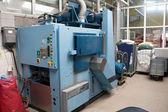 Industrial washing machines — Stock Photo