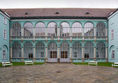 Chateau in Dacice — Stock Photo