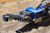 Stone crusher in the quarry — Stock Photo