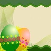 Påsk ägg bakgrund — Stockfoto