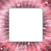 Vintage Love frame — Stock Photo