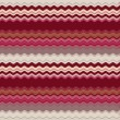 Background with colorful pink and brown stripes, wave - Stock Photo
