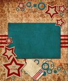 USA stile design — Stock Photo