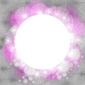 Fond de cercle vide — Photo