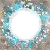 Empty circle background — Stock Photo