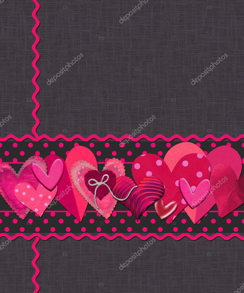 Background or card for Valentines day — Stock Photo #3786781