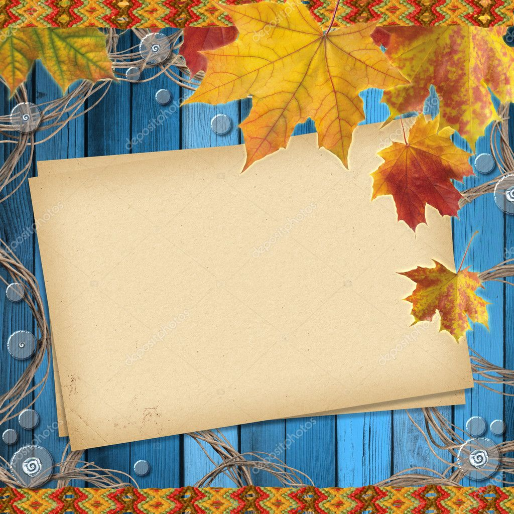 Autumn colored maple leaves  — Stock Photo #3891937