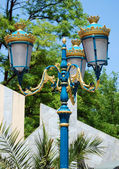 Beautiful antique style street lantern — Stock Photo