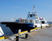 Boat in the port — Photo