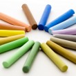 Stock Photo: Pieces of chalk