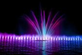 Fontaine de nuit — Photo