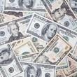 Dollar banknotes background — Stock Photo