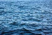 Wavy blue sea surface — Stock Photo