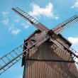 Stock Photo: Wooden Windmill in Tykocin / Poland