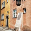Stock Photo: Walls of old tenement house
