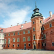 Royal Castle in Warsaw - Yard — Stock Photo