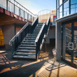Stairs in a modernist style - Stock Photo