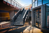 Stairs in a modernist style — Stock Photo