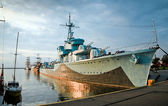 Destroyer Ship - II World War — Stock Photo