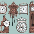 Clocks — Vector de stock #2832020