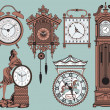 Clocks — Vetorial Stock #2832020