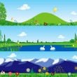Three summer banners — Stock Vector #3048554