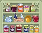 Słodki sklep — Wektor stockowy