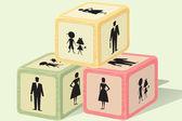 Briques familiales — Vecteur