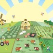 Farm — Vector de stock #3578869