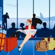 Royalty-Free Stock Vector: Airport
