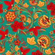 Royalty-Free Stock Vector Image: Flower seamless pattern