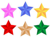Sterne vektor — Stockvektor