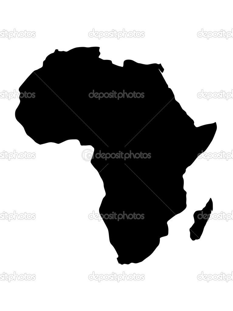 Vector illustration of africa map — Stock Vector #2823387