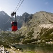 Stock Photo: Mountain Cable Car