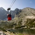 Mountain Cable Car — Stock Photo